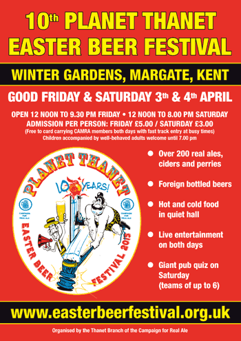 Beer festival in Thanet